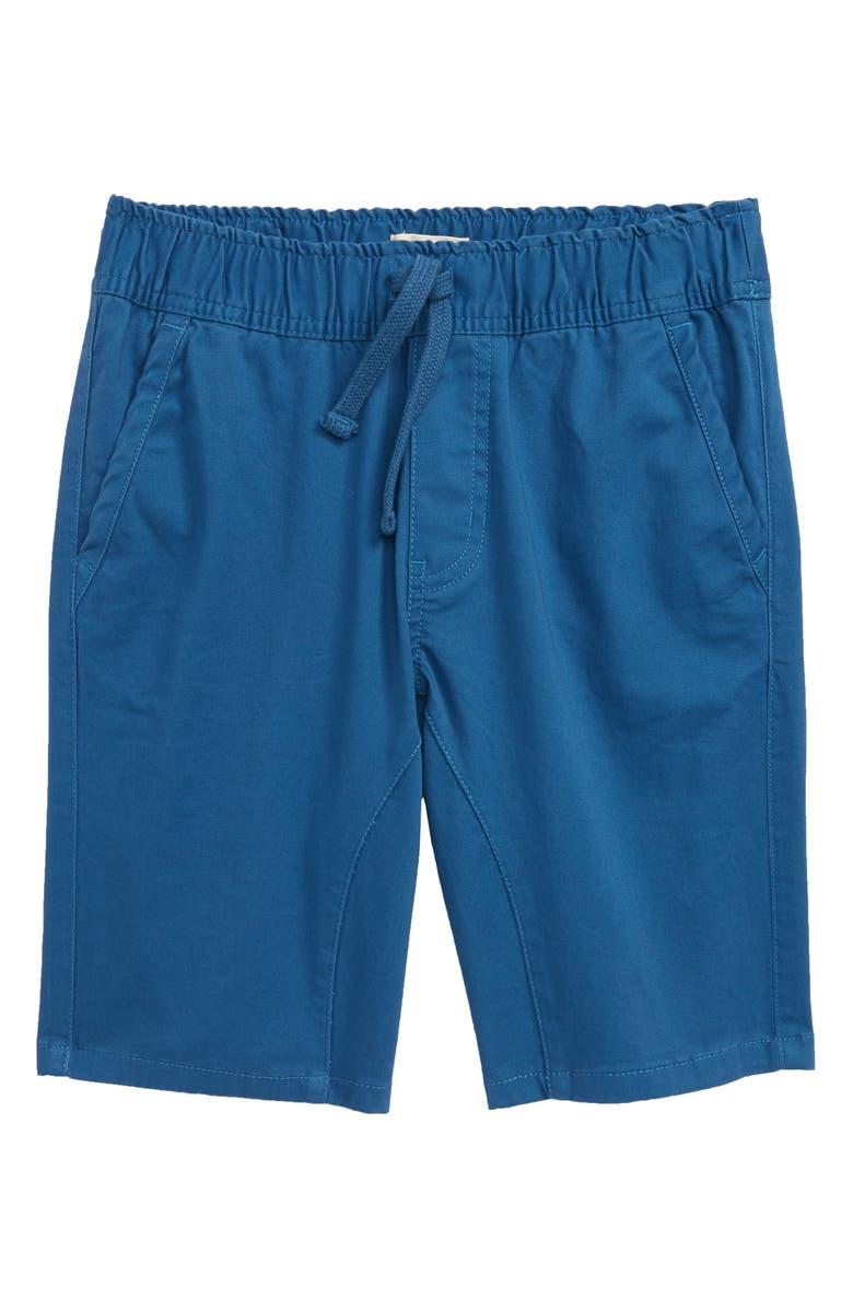 TUCKER + TATE Knit Shorts, Main, color, BLUE DARK