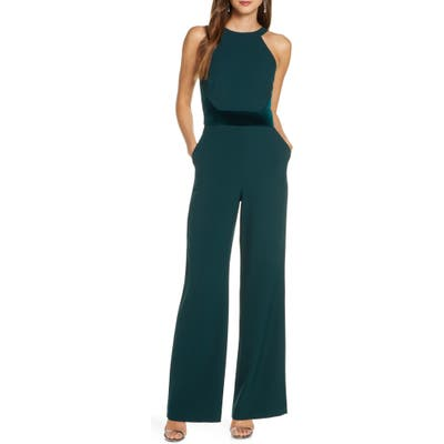 Vince Camuto Halter Jumpsuit, Green