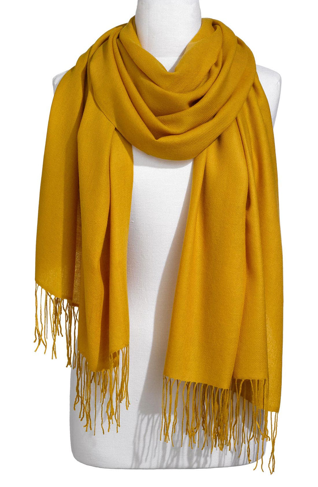 ,                             Tissue Weight Wool & Cashmere Wrap,                             Main thumbnail 195, color,                             700