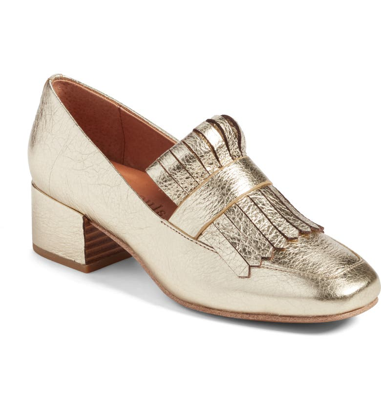GENTLE SOULS BY KENNETH COLE Ethan Pump, Main, color, SOFT GOLD LEATHER