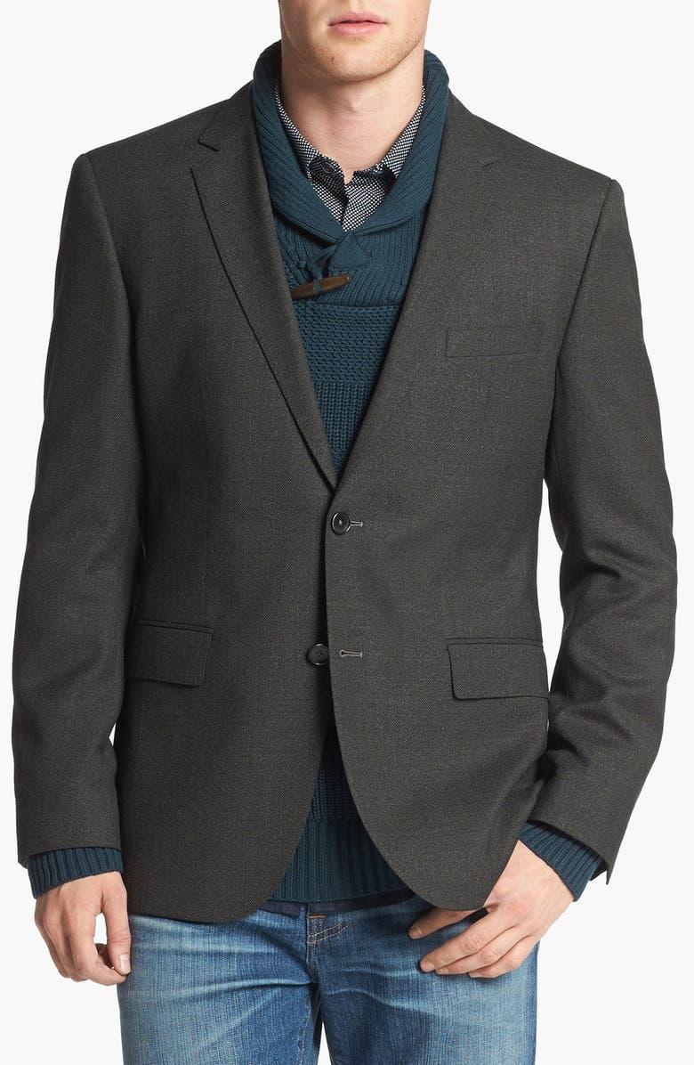 ZZDNUHUGO BOSS BOSS HUGO BOSS 'The Keys' Trim Fit Wool Sportcoat, Main, color, 301