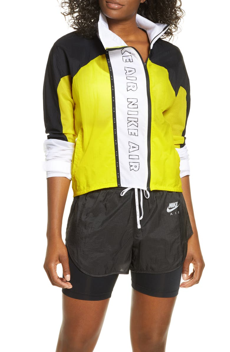 NIKE Air Water Repellent Running Jacket, Main, color, 700