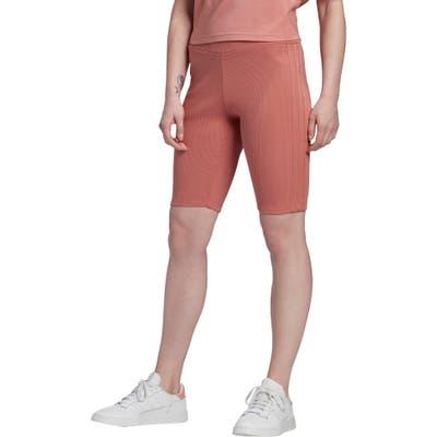 Adidas Originals Biker Shorts, Pink