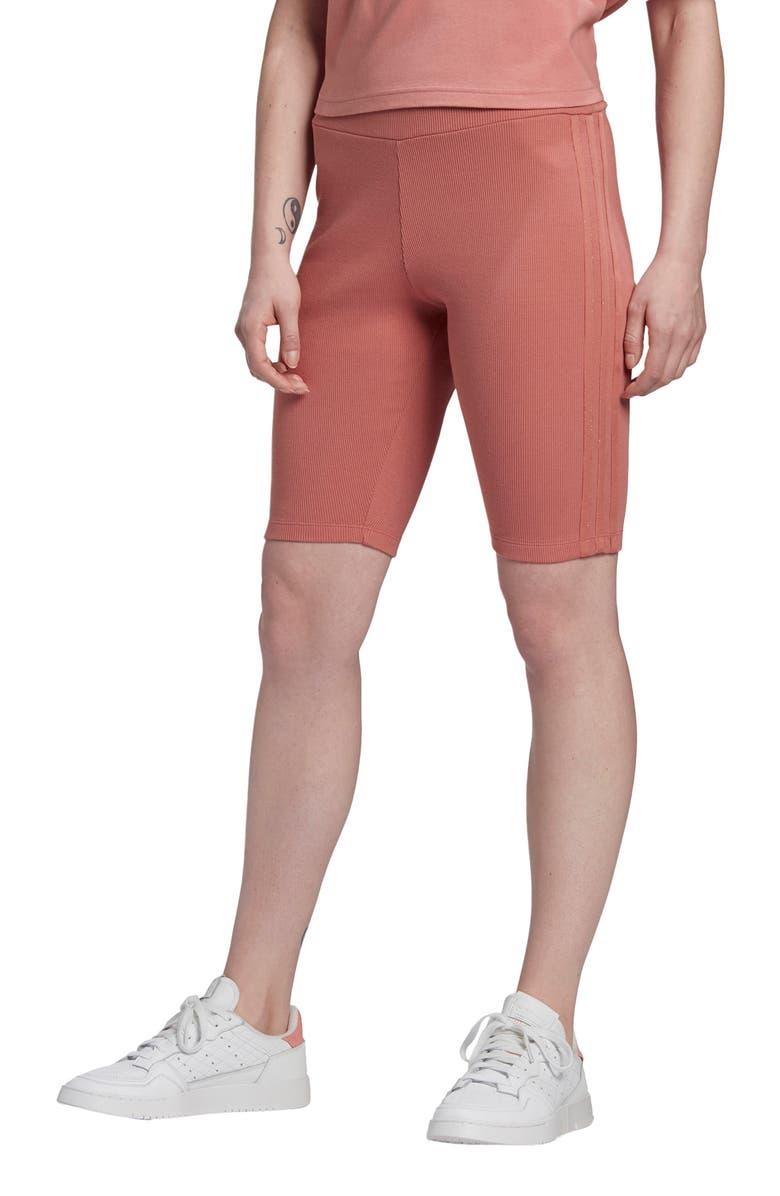 ADIDAS ORIGINALS Biker Shorts, Main, color, ASH PINK