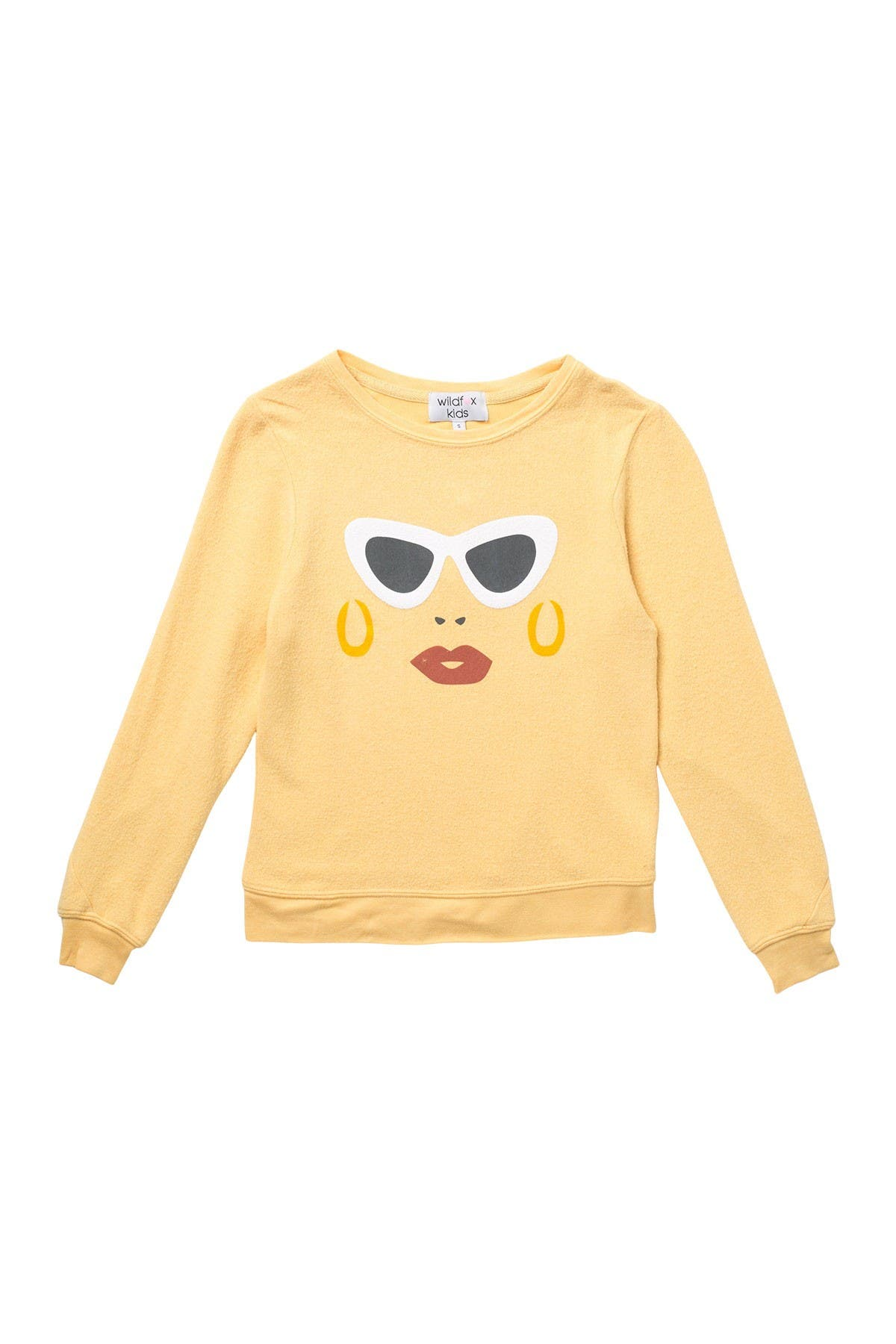 Image of WILDFOX Vacay Sunnies Print Knit Pullover