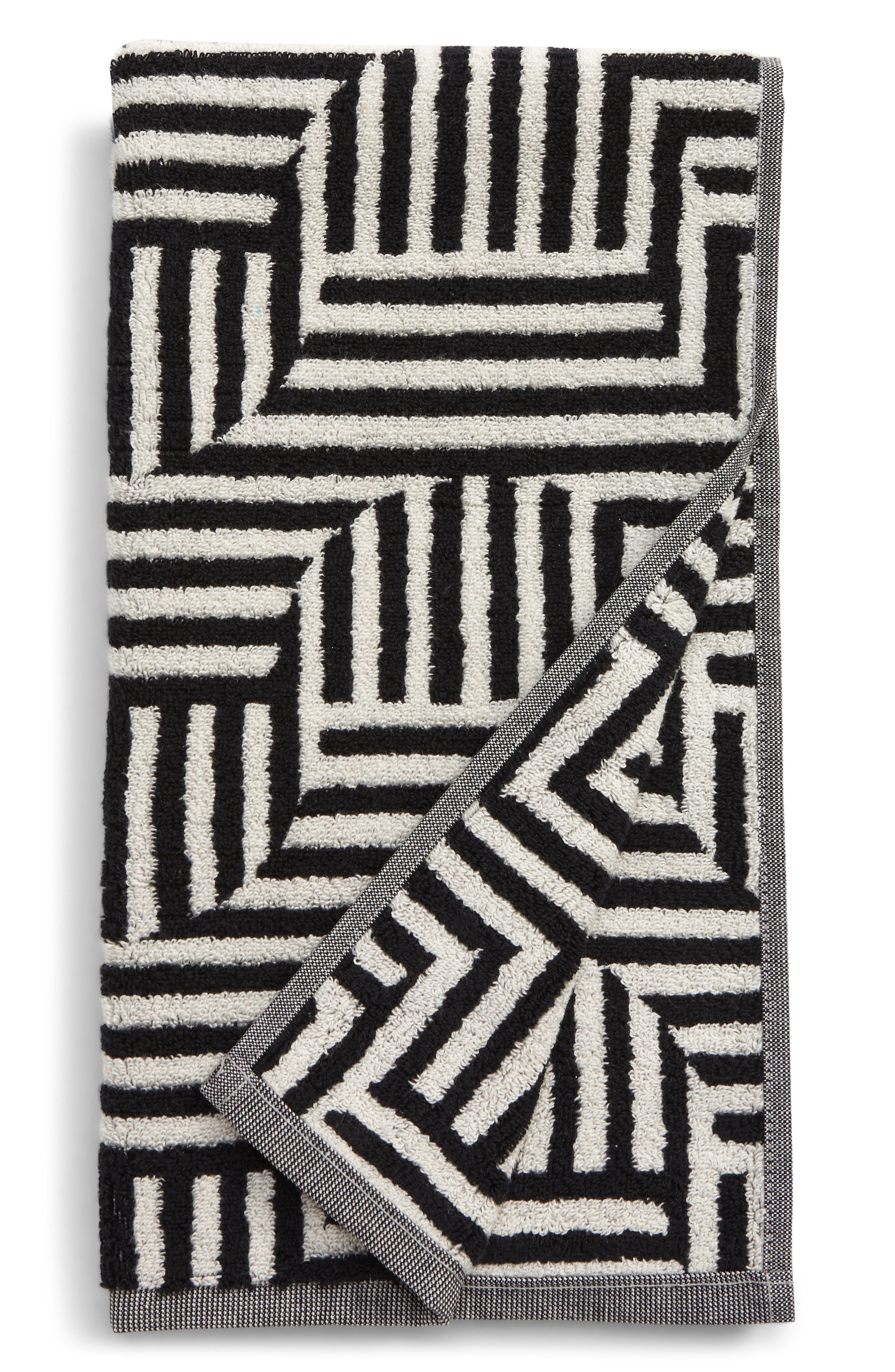 Dusen Dusen Flip Reversible Jacquard Hand Towel