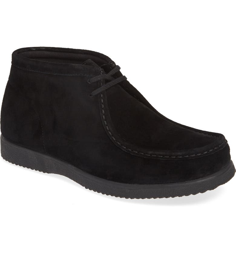 HUSH PUPPIES<SUP>®</SUP> Bridgeport Chukka Boot, Main, color, BLACK SUEDE