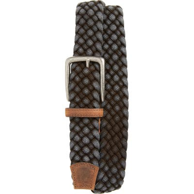 Torino Woven Cotton Belt, Black