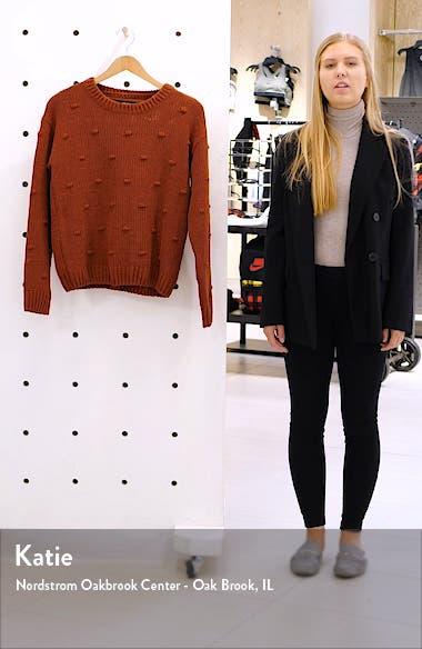 Chenille Dot Knit Sweater, sales video thumbnail