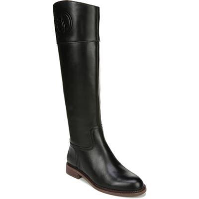 Franco Sarto Hudson Riding Boot, Wide Calf- Black