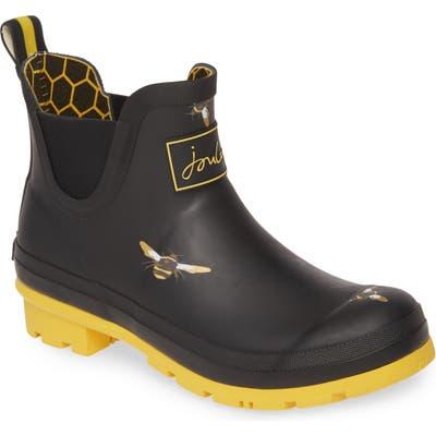 Joules Wellibob Short Rain Boot, Black