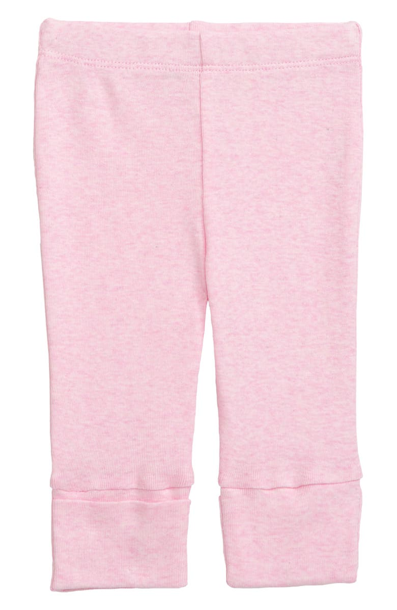 MONICA + ANDY Hello Organic Cotton Pants, Main, color, PINK HEATHER