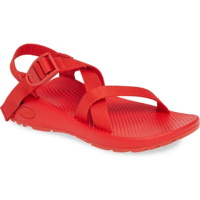 Chaco Z1 Classic Monochrome Sandal, Red