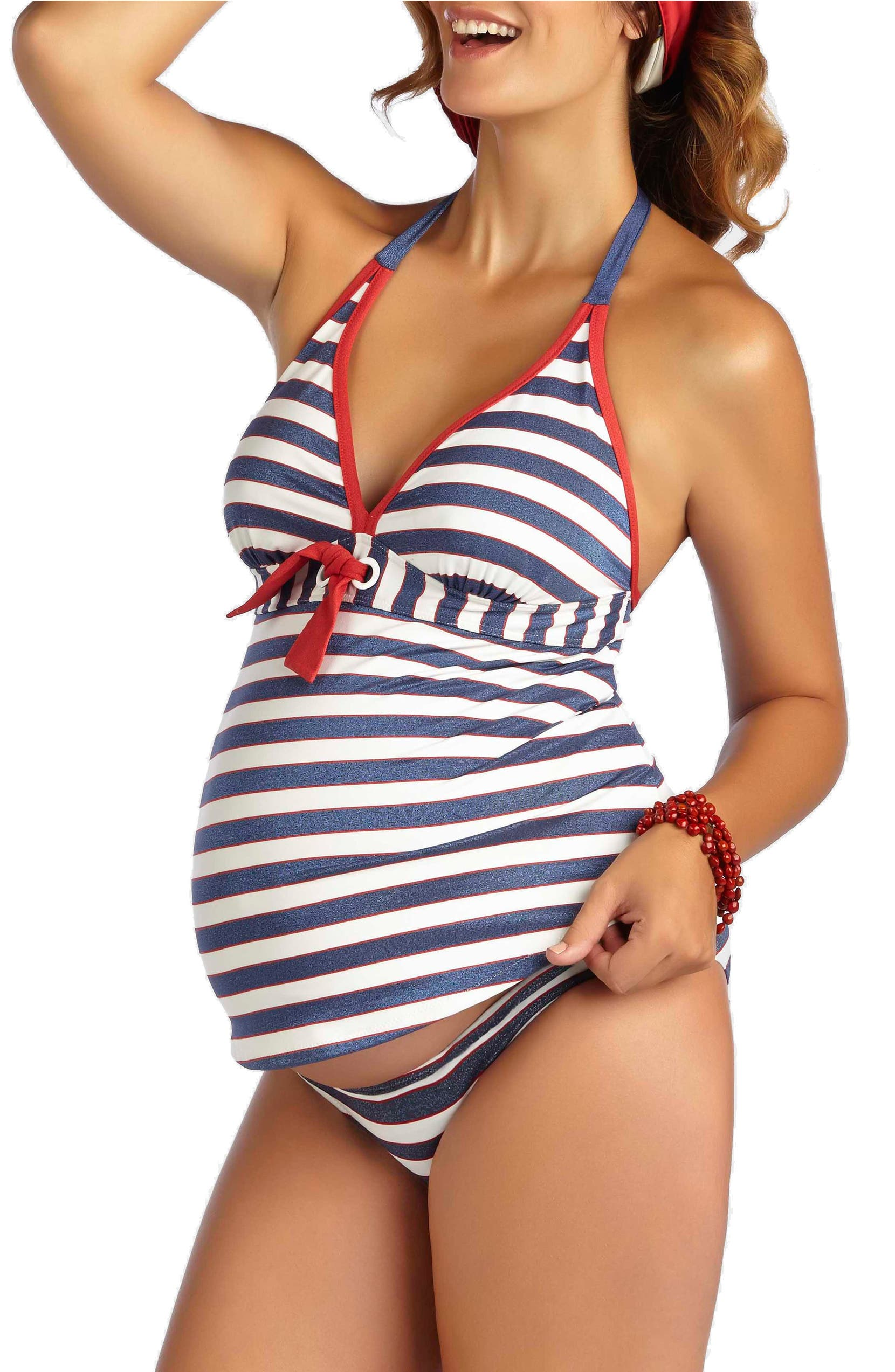 634128ec2515aa Pez D'Or 'Palm Springs' Two-Piece Maternity Swimsuit | Nordstrom