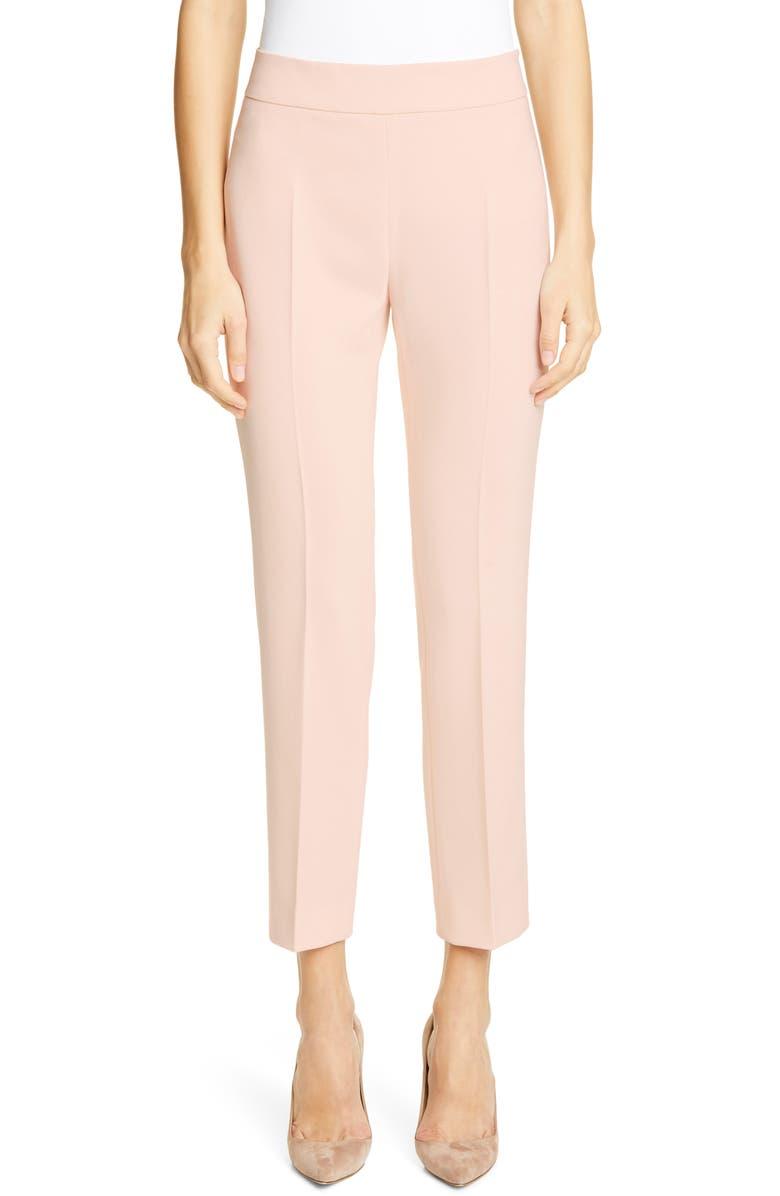 MAX MARA Guglia Cady Crop Trousers, Main, color, 664