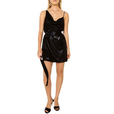 The East Order Belted Minidress, Black