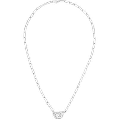 Dinh Van Menottes Diamond Necklace