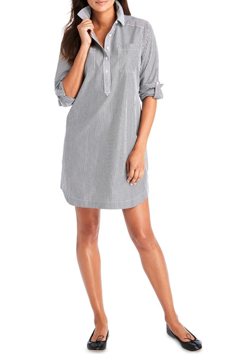 Margo Stripe Shirtdress