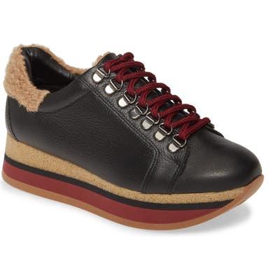 Cordani Jolene Wedge Sneaker - Black