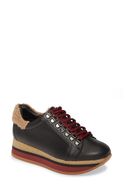 Image of CORDANI Jolene Faux Fur Detail Sneaker