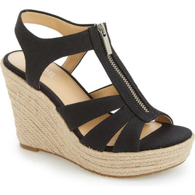 Michael Michael Kors Berkley Platform Wedge- Black
