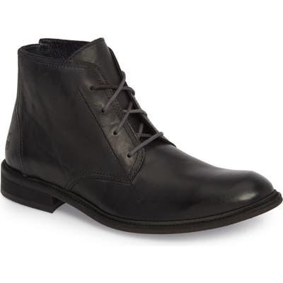 Fly London Hobi Plain Toe Chukka Boot, Black