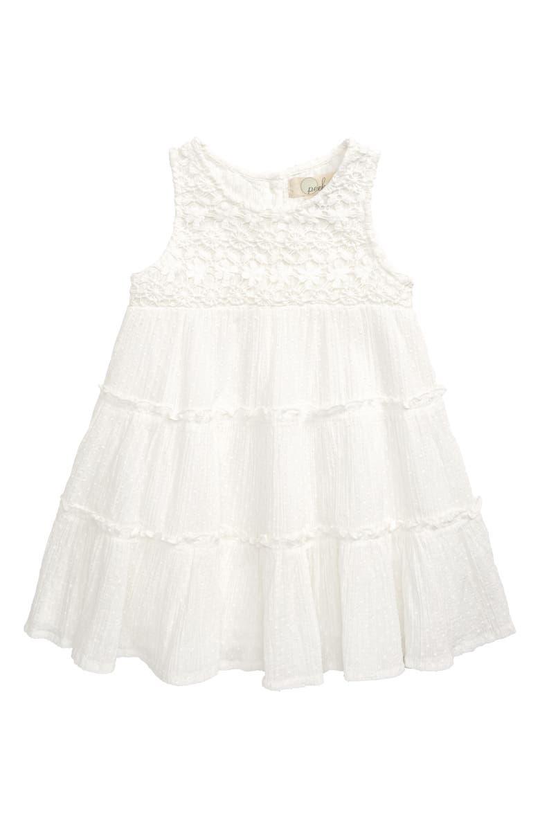 PEEK AREN'T YOU CURIOUS Sayulita Dress, Main, color, CREAM