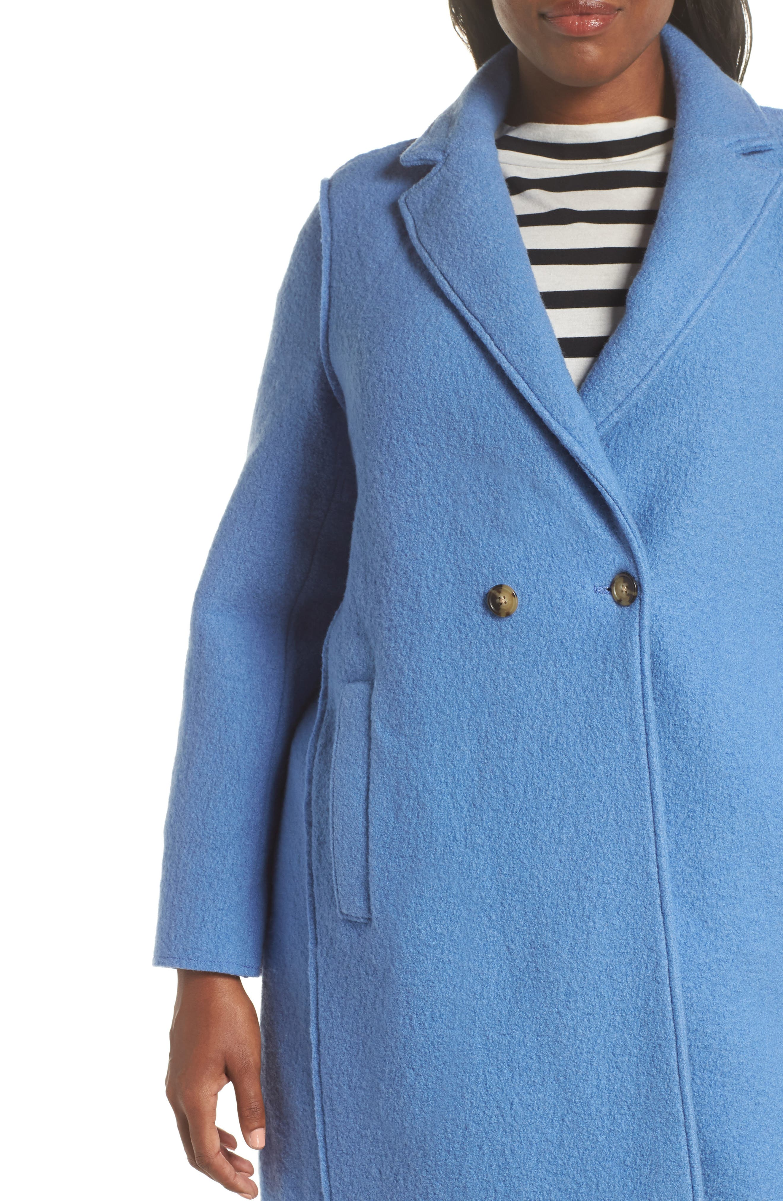 ,                             Daphne Boiled Wool Topcoat,                             Alternate thumbnail 17, color,                             022