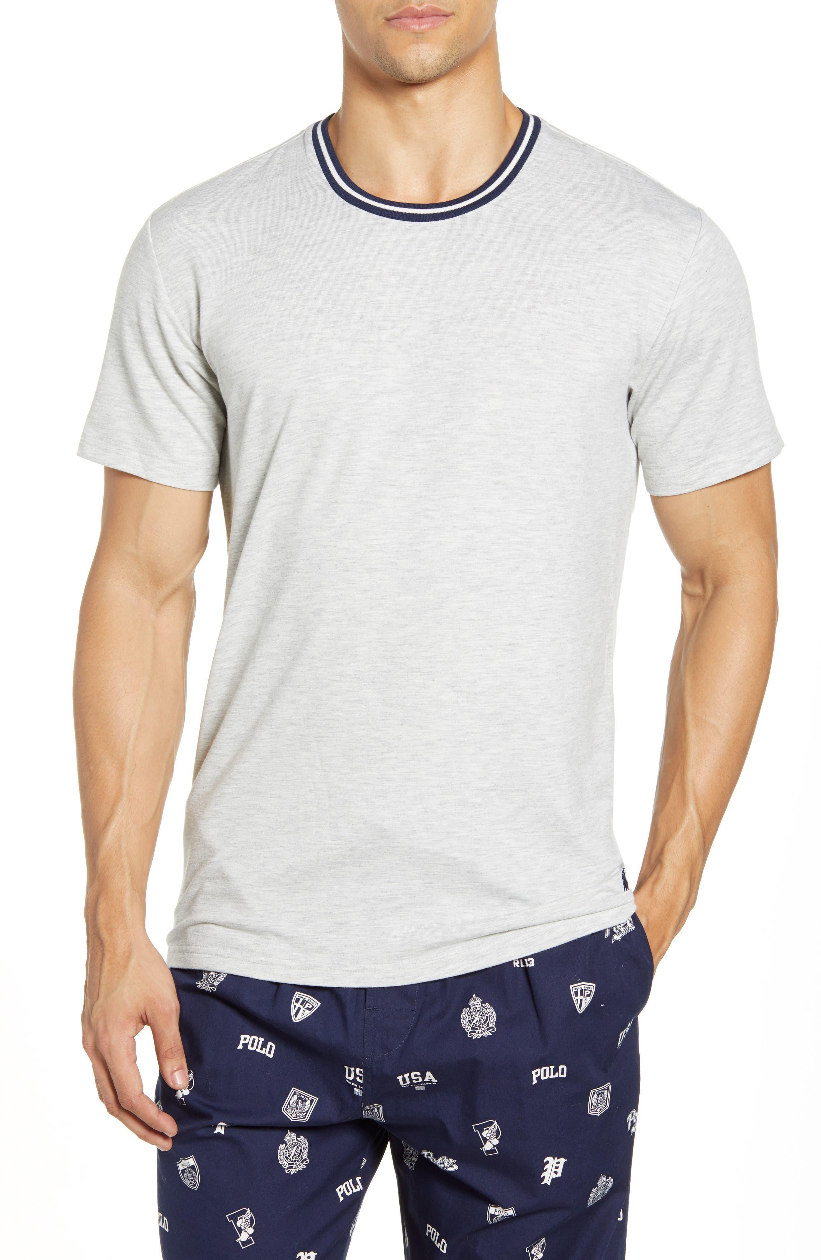 Image of Polo Ralph Lauren Short Sleeve Crew Neck Sleep Tee