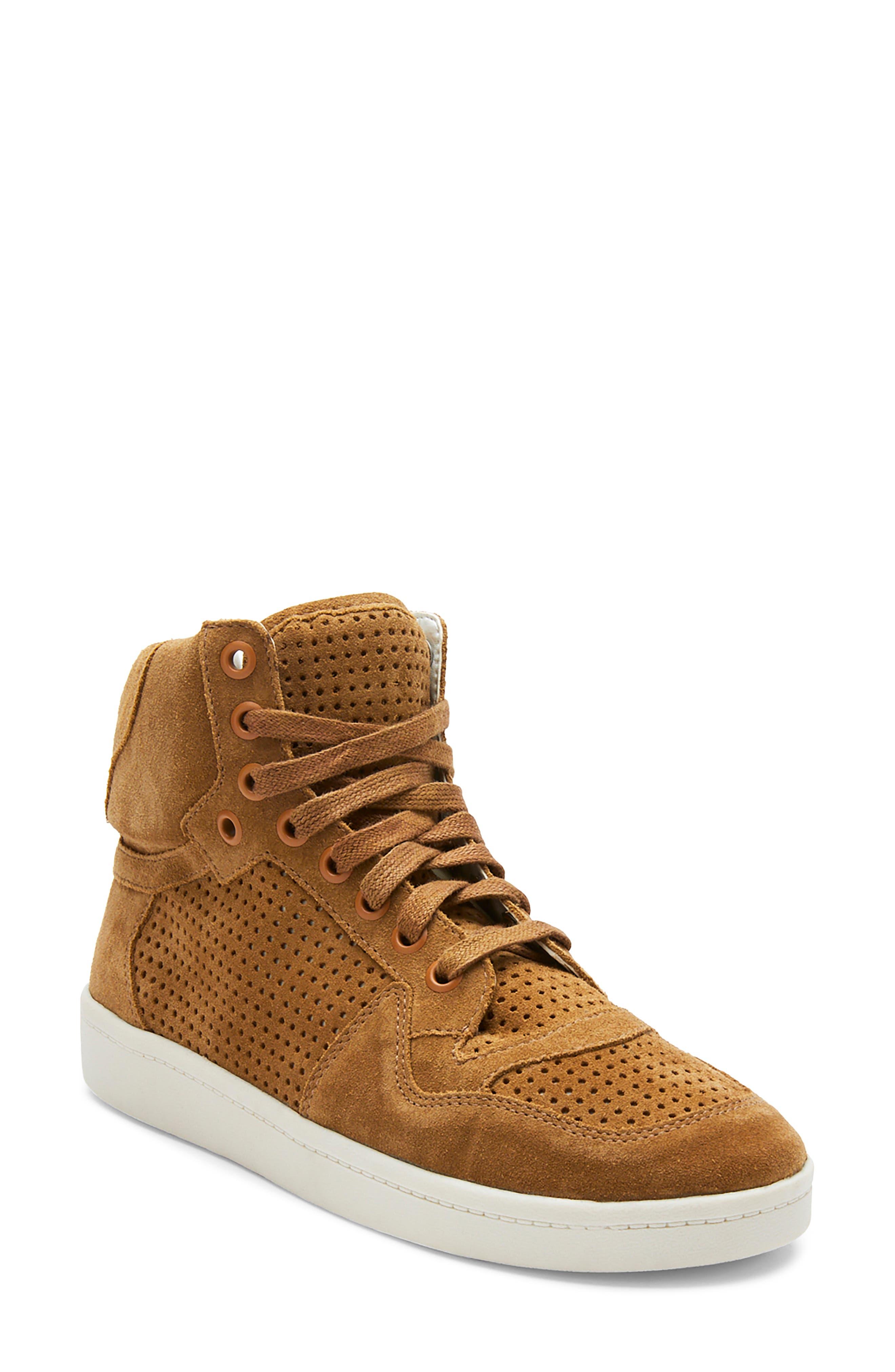 Girl Crush Leather High Top Sneaker
