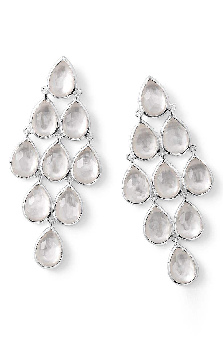 IPPOLITA 'Rock Candy' Teardrop Semiprecious Stone Drop Earrings, Main, color, 100