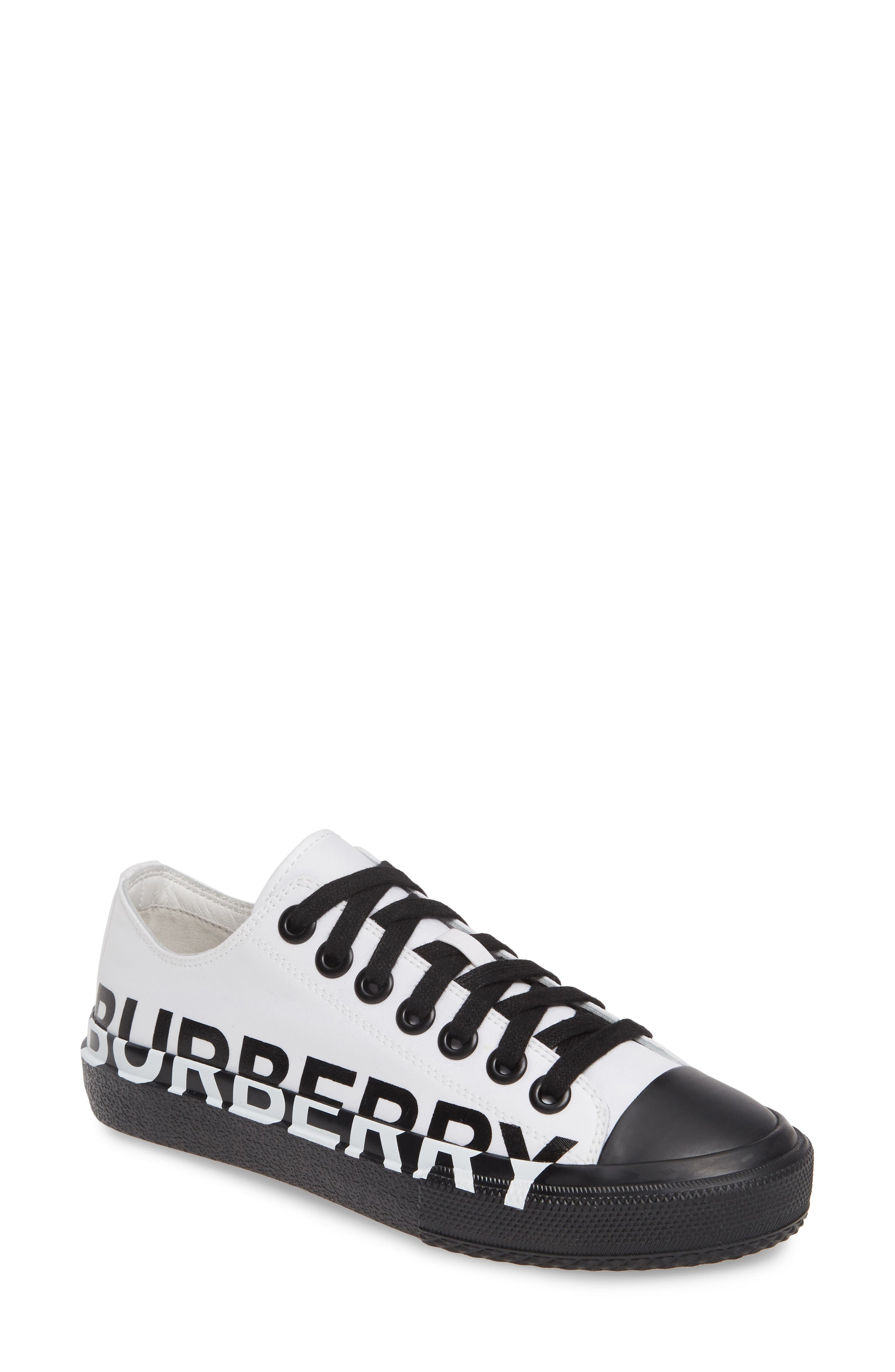 ,                             Larkhall Graphic Logo Sneaker,                             Main thumbnail 1, color,                             WHITE/ BLACK