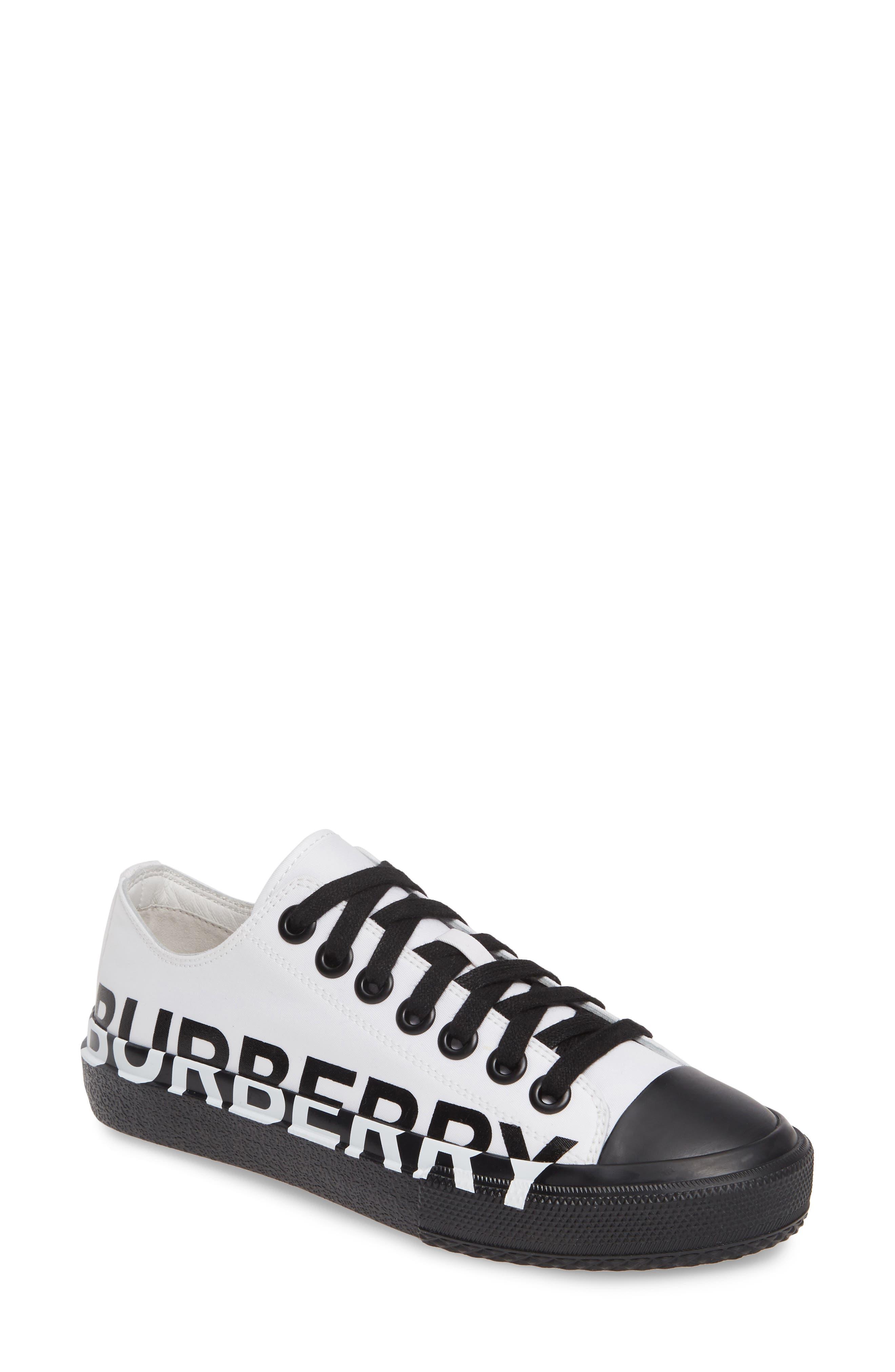 Larkhall Graphic Logo Sneaker, Main, color, WHITE/ BLACK