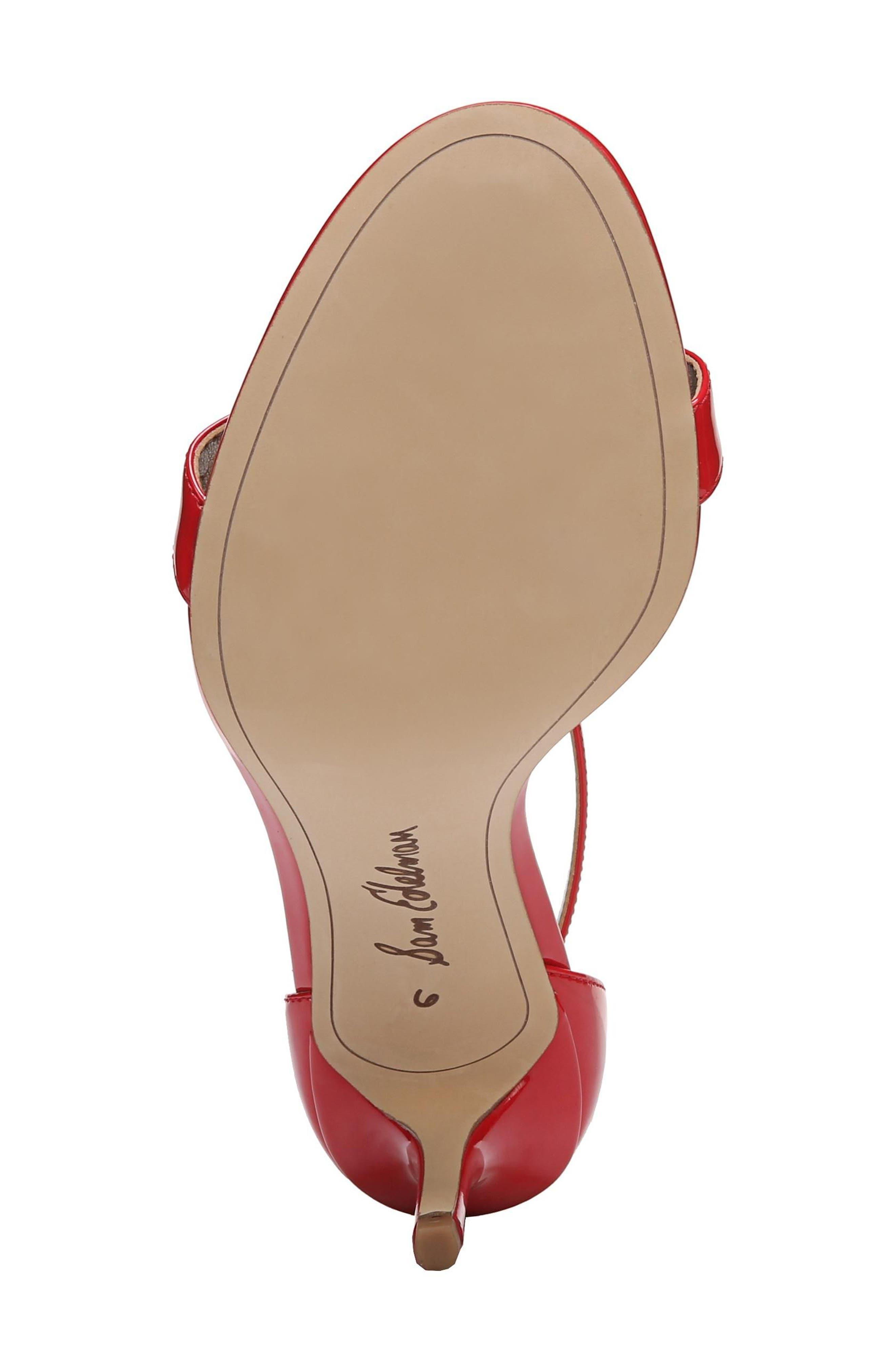 ,                             'Patti' Ankle Strap Sandal,                             Alternate thumbnail 119, color,                             606