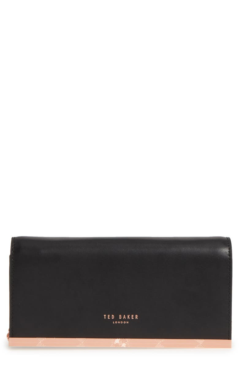 d9e4f514d Ted Baker London Leather Matinée Wallet on a Chain   Nordstrom