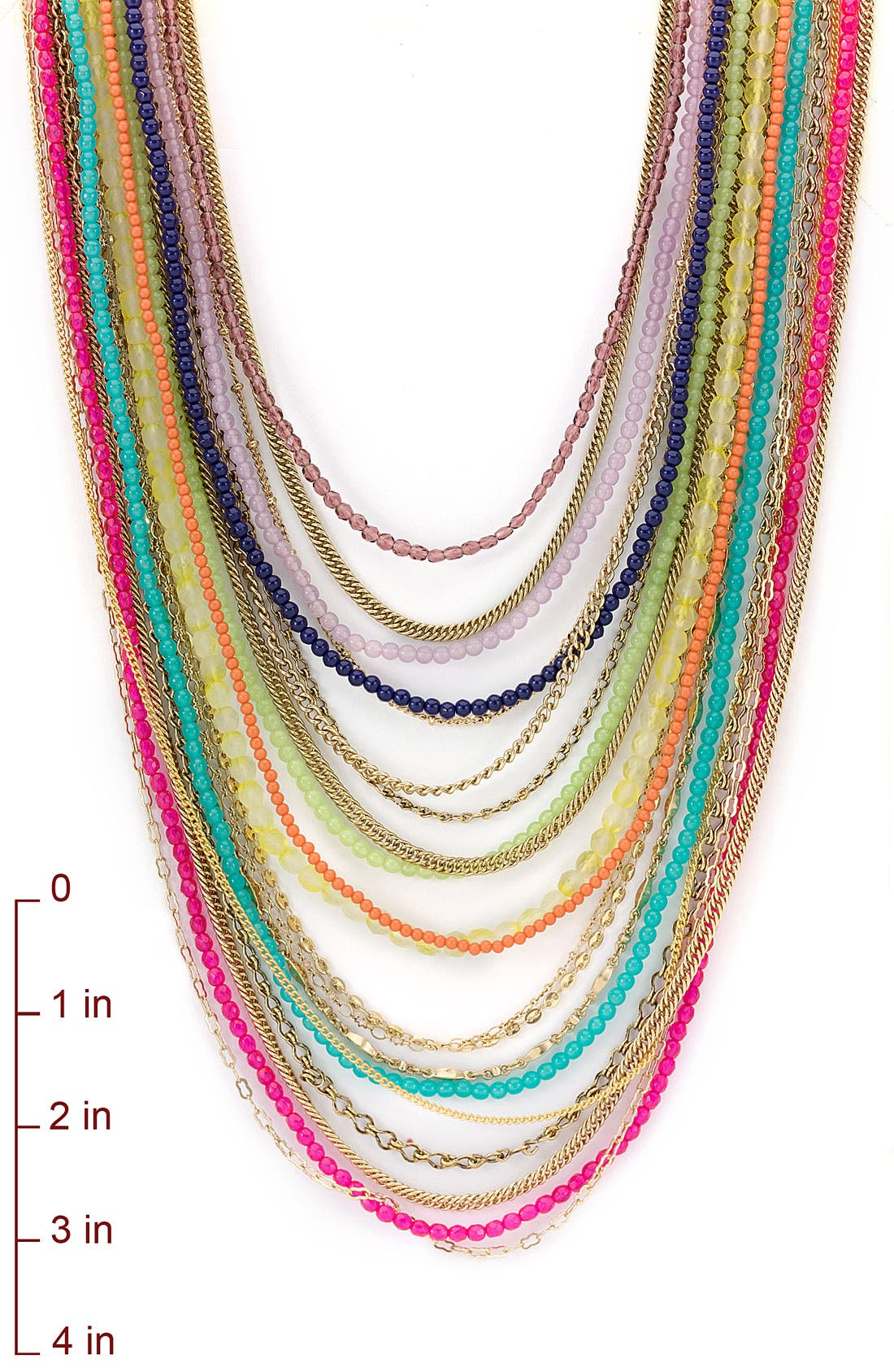 ,                             Beaded Long Multistrand Necklace,                             Alternate thumbnail 24, color,                             960