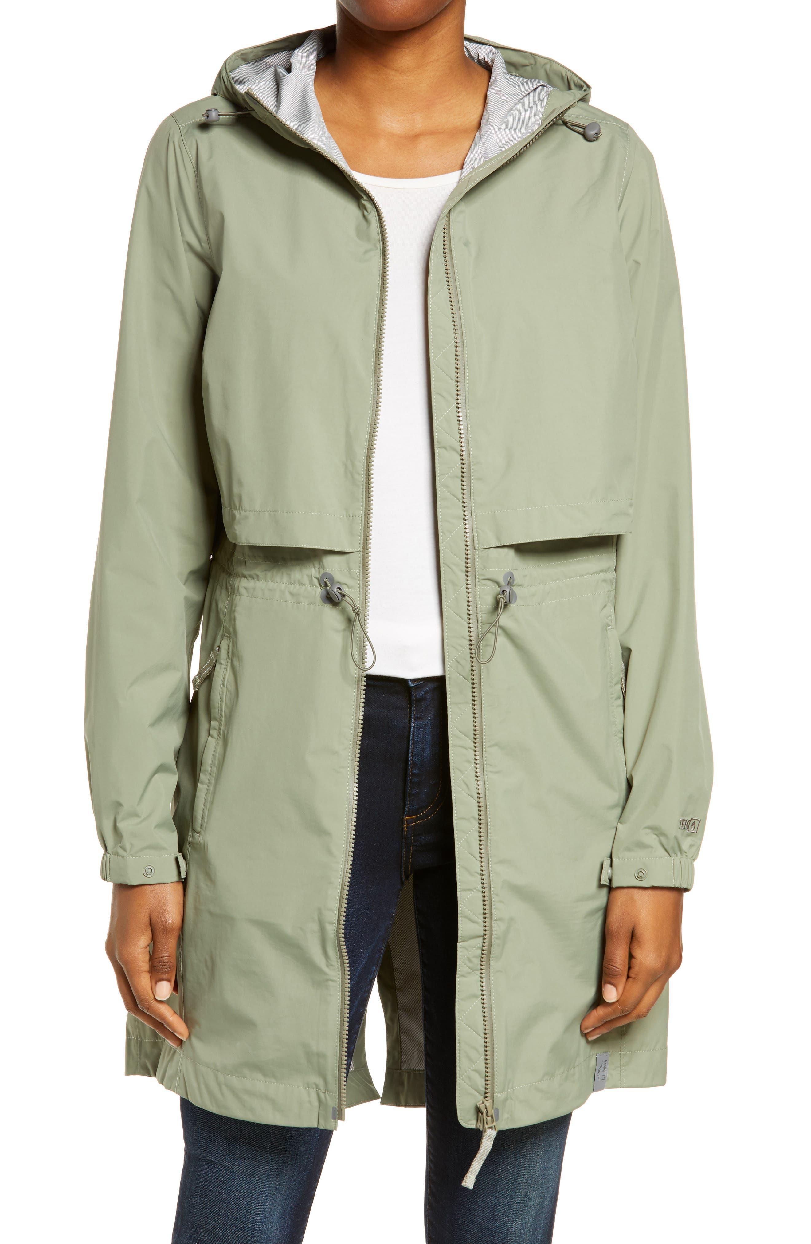 Meridian Hooded Raincoat