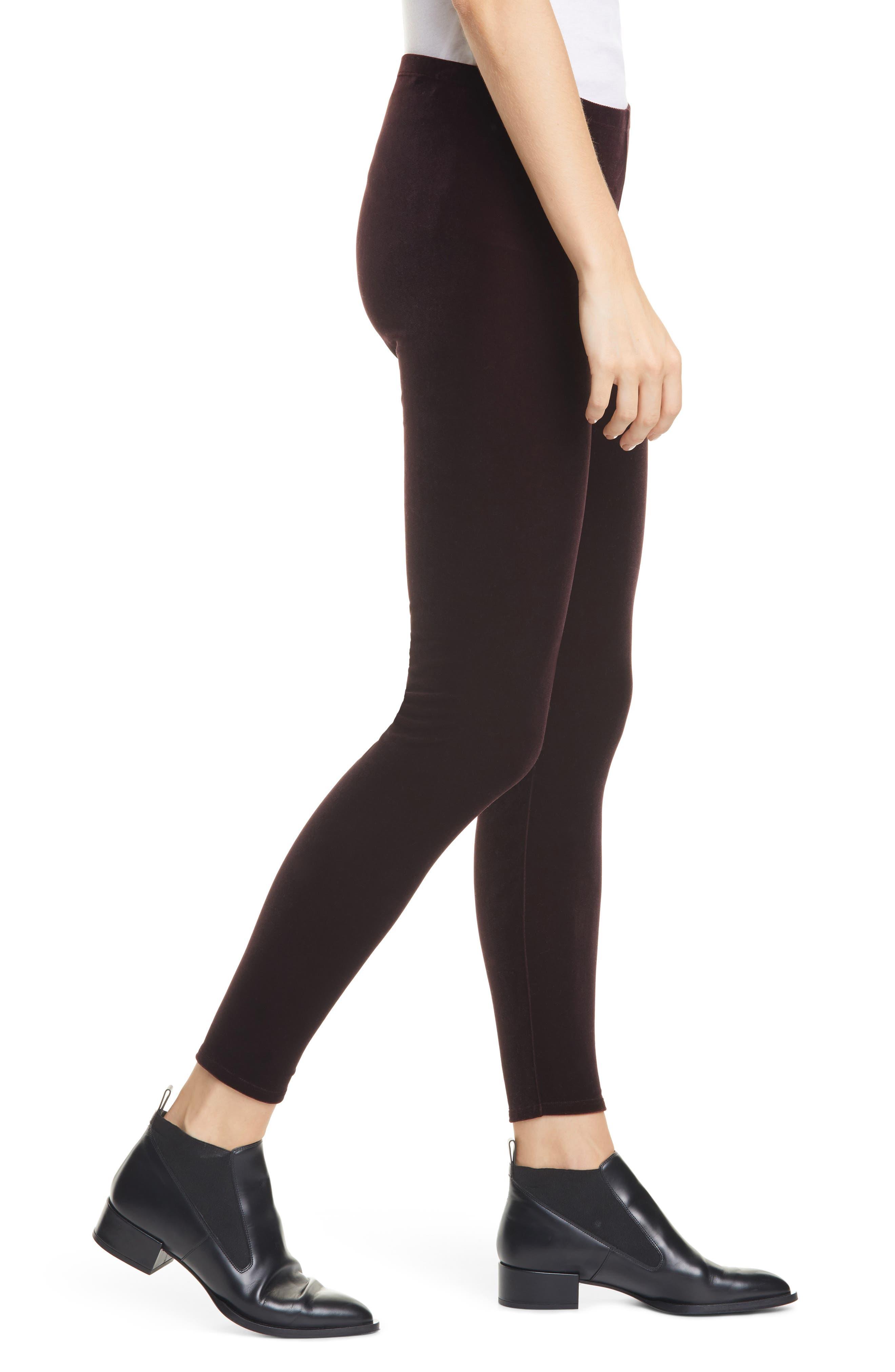 Eileen Fisher Pants Velvet Ankle Leggings