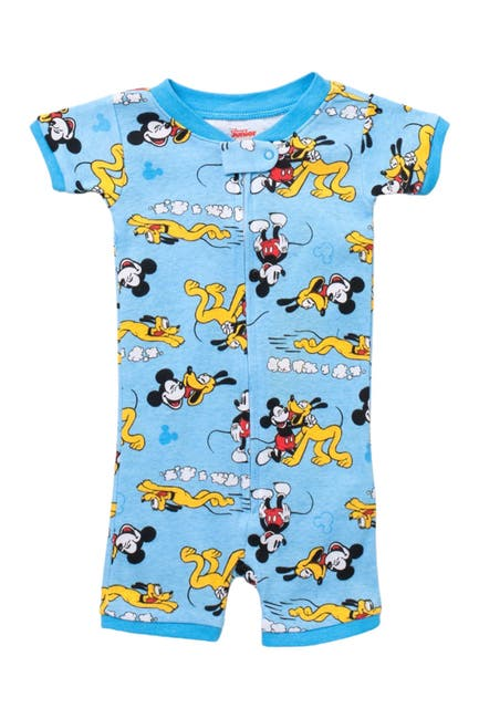 Image of AME Disney Mickey Mouse & Pluto Romper