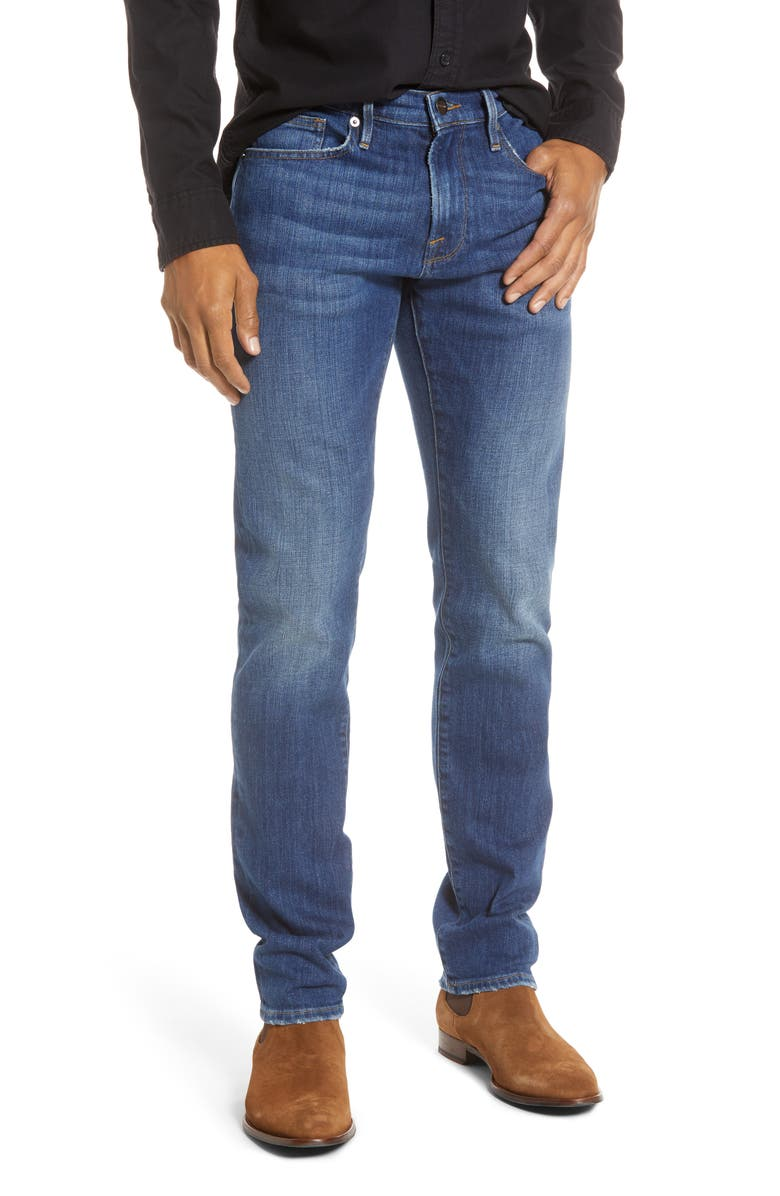 FRAME L'Homme Slim Fit Jeans, Main, color, DEEP OCEAN