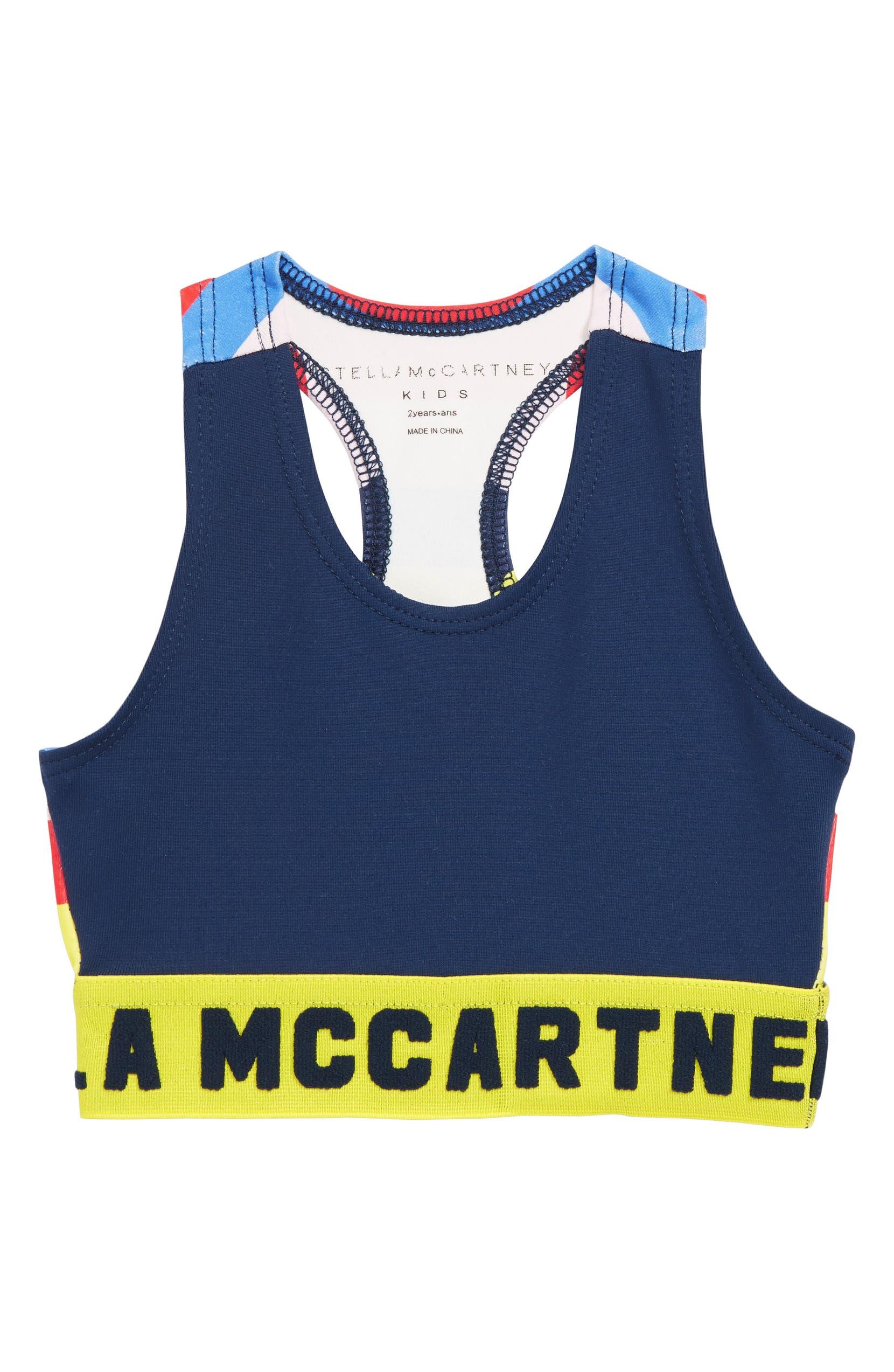 e6474c5e00b Stella McCartney Kids Sport Crop Top (Toddler Girls, Little Girls ...