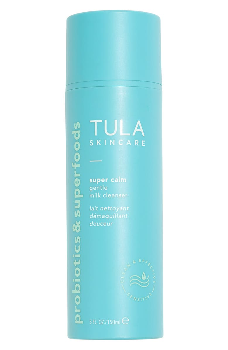 TULA PROBIOTIC SKINCARE Super Calm Gentle Milk Cleanser, Main, color, NO COLOR