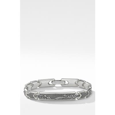 David Yurman Waves Id Link Bracelet