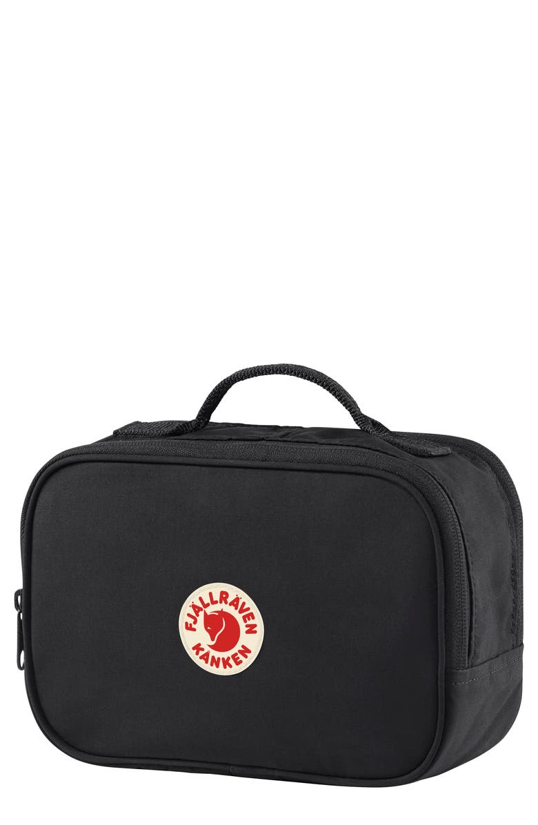 FJÄLLRÄVEN Kånken Toiletry Case, Main, color, BLACK