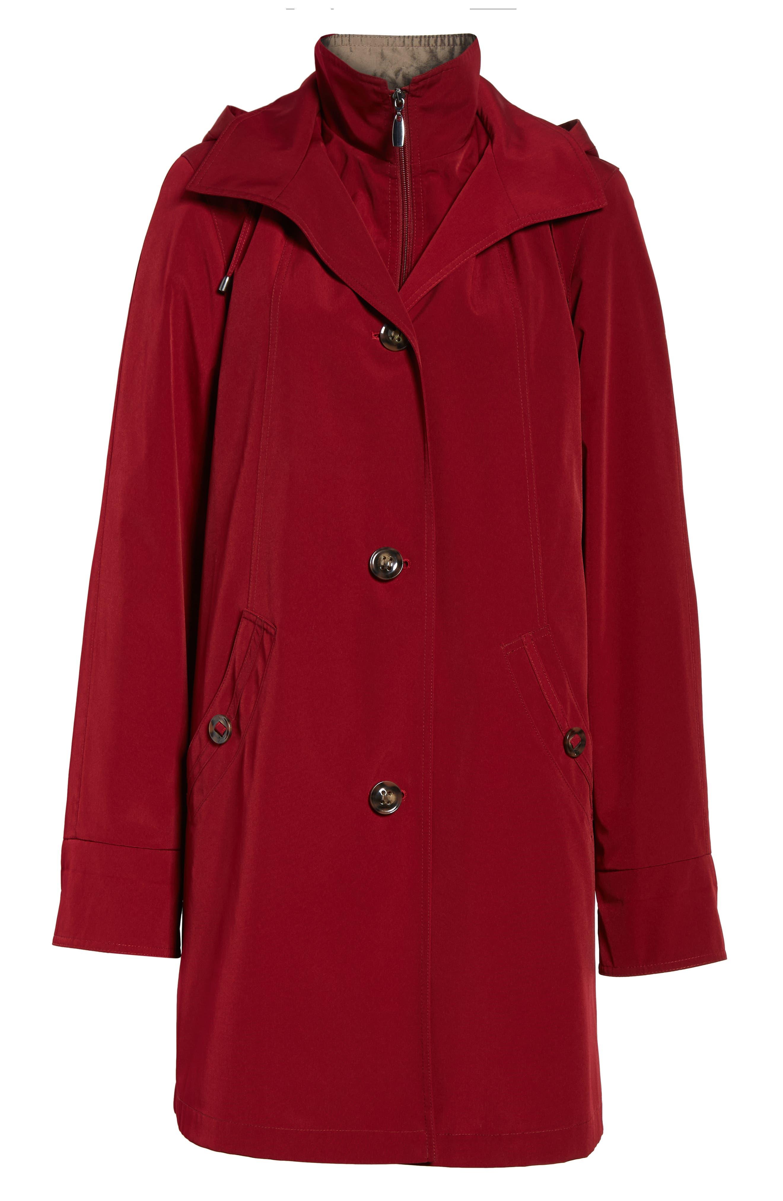 ,                             Detachable Hood & Liner Raincoat,                             Alternate thumbnail 19, color,                             930