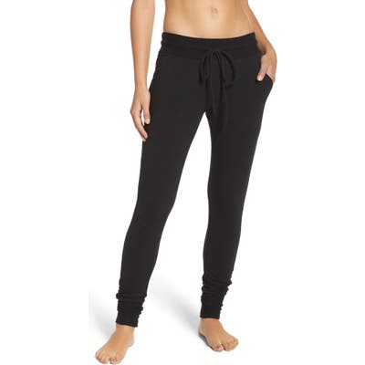 Free People Fp Movement Sunny Skinny Sweatpants, Black