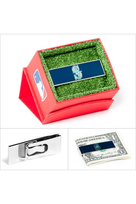 Image of Cufflinks Inc. MLB Seattle Mariners Money Clip