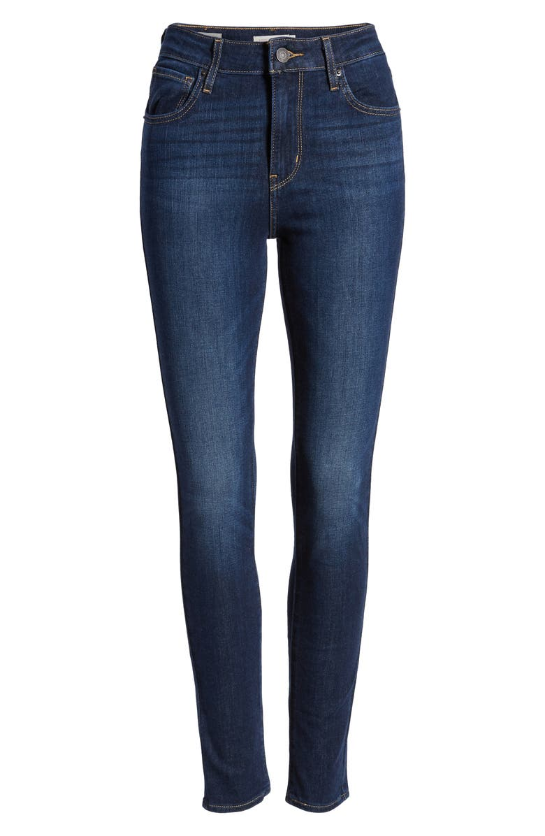 LEVI'S<SUP>®</SUP> 721<sup>™</sup> High Waist Skinny Jeans, Alternate, color, SMOOTH IT OUT