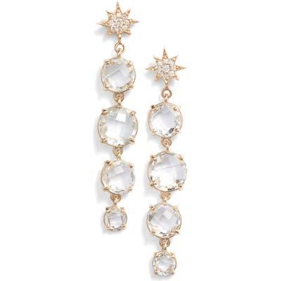 Anzie North Star Drop Earrings