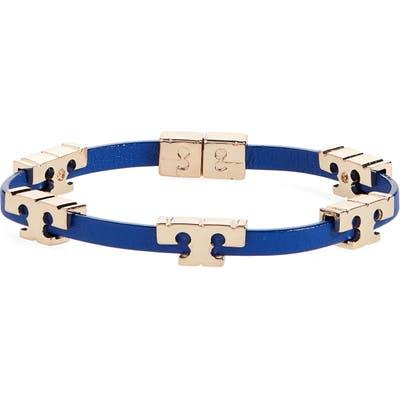 Tory Burch T-Logo Single Wrap Bracelet